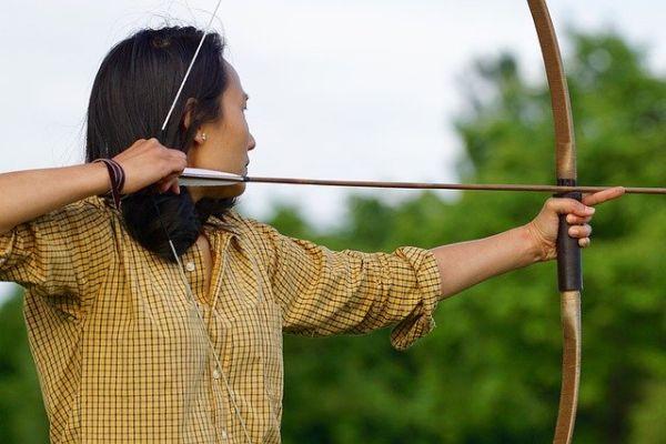 Bogenschießen lernen langer Auszug