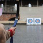 Bogenschießen lernen Pfeil verfolgen